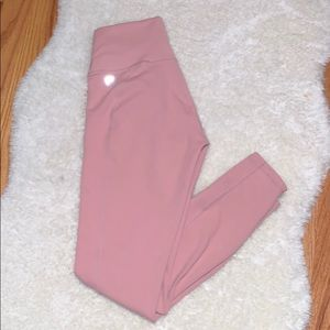 Fabletics Nude/Pink Workout Leggings